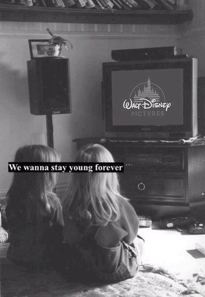 We wanna stay young forever