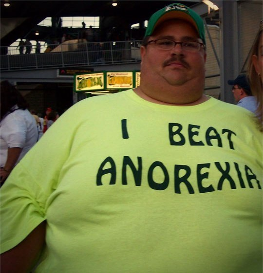 Image may contain: I Beat Anorexia - Myspace Photo