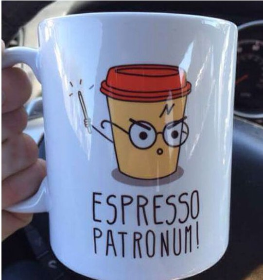 Image may contain: Espresso patronum! - Myspace Photo