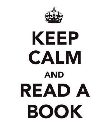 Image may contain: Keep Calm And Read A Book - Myspace Photo
