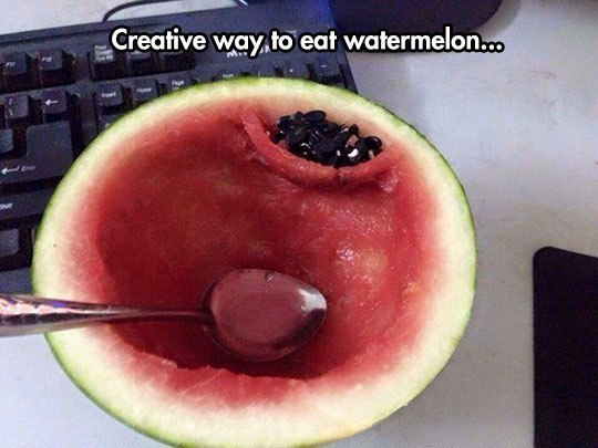 Creative ways to eat watermelon