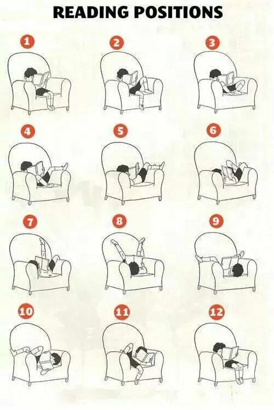 Image may contain: Reading positions - Myspace Photo