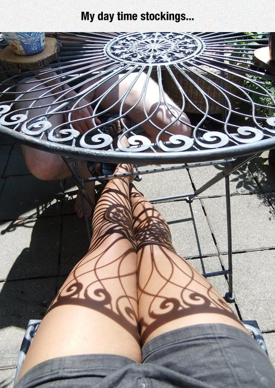 My day time stockings - Myspace Photo