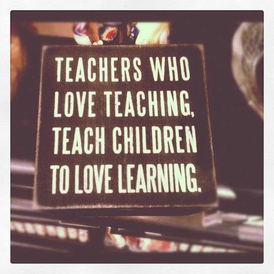 Image may contain: Teachers who love teaching, teach children to love learning - Myspace Photo