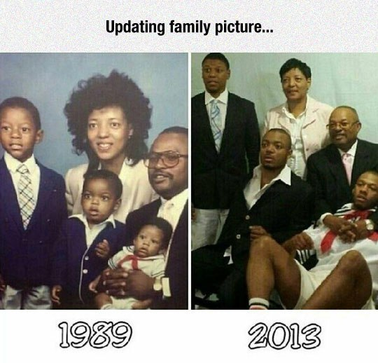 Updating family picture.. 1989 - 2013 - Myspace Photo