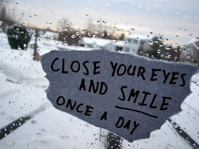 close your eyes and smile once a day - Myspace Photo