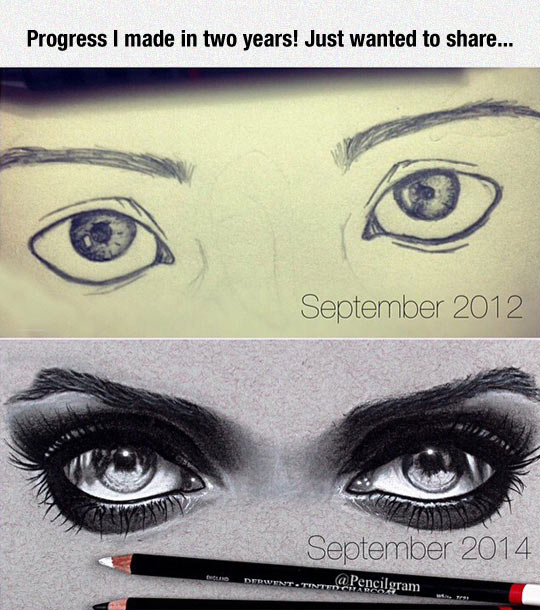 Image may contain: Progress i made in two years! Just wanted to share... - Myspace Photo