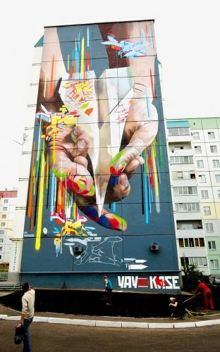 Case lives and works in Frankfurt, Germany
