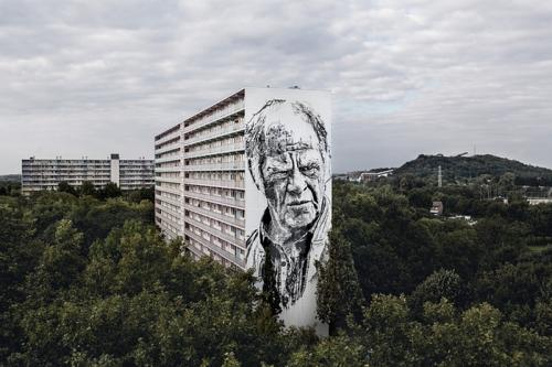 This is the tallest mural in the Netherlands