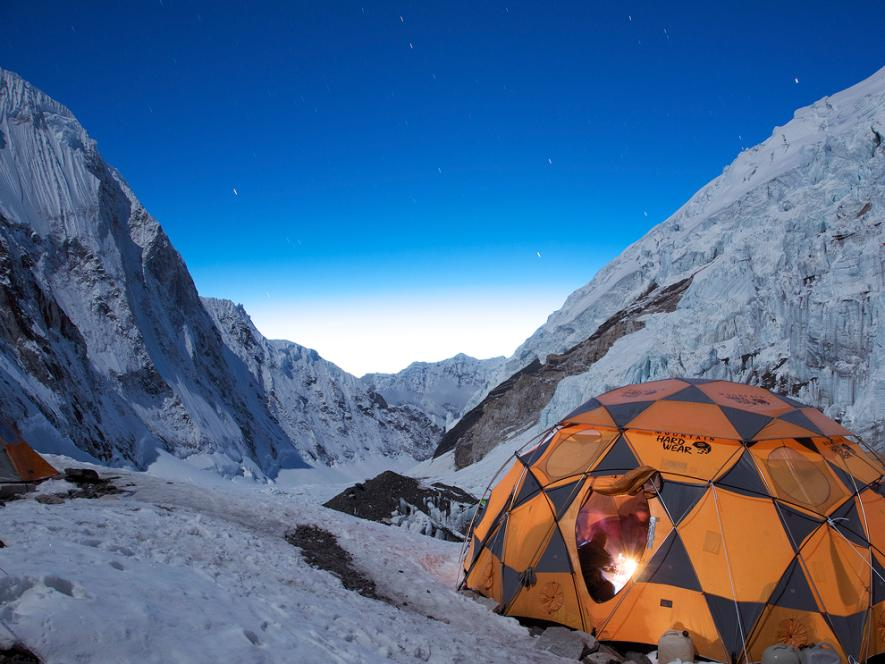 Stars Over Campsite, Mount Everest | HD Wallpapers