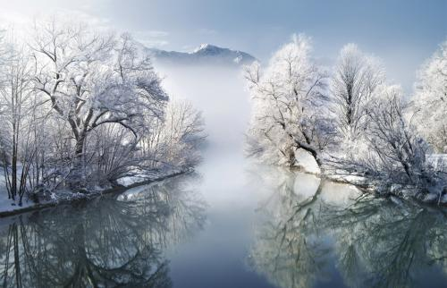 The Cold Beauty of Bavaria, Germany