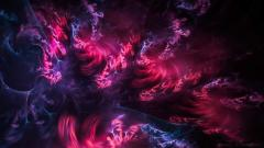 Abstract fractal background wallpaper