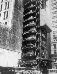 Vertical Parking Structure (Chicago, Illinois - 1932)