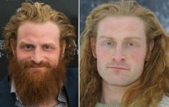 Kristofer Hivju without a beard
