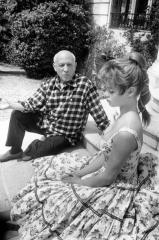 Two Legends: Pablo Picasso and Brigitte Bardot