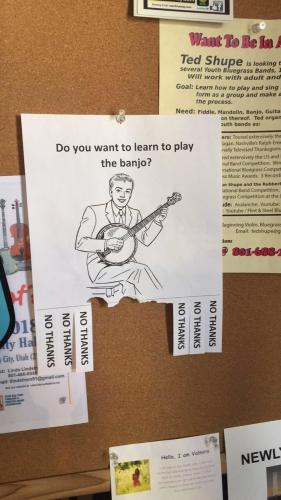 Do you want to learn to play the banjo?