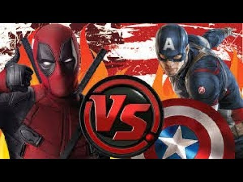 Deadpool vs Captain America