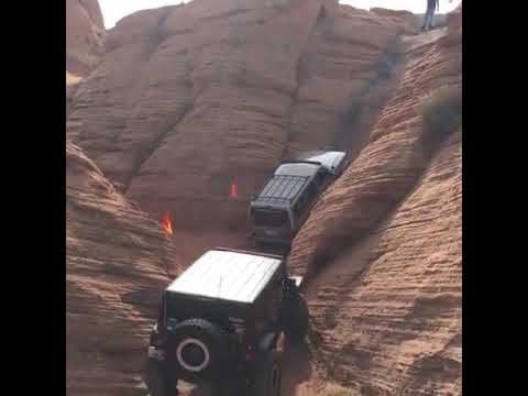 See this JEEP convoy passed incredible roads , cool