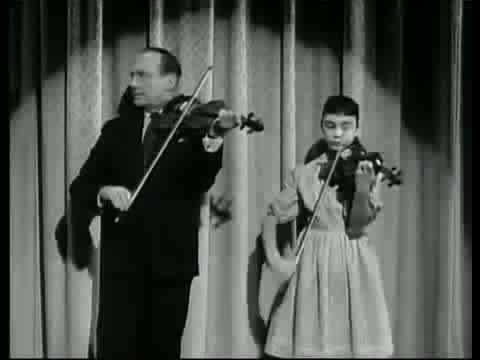 Jack Benny Violin Duet with 12 Year Old Toni