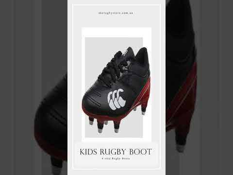 Canterbury Rugby 6 plastic studs - Rugby Boots for Kids