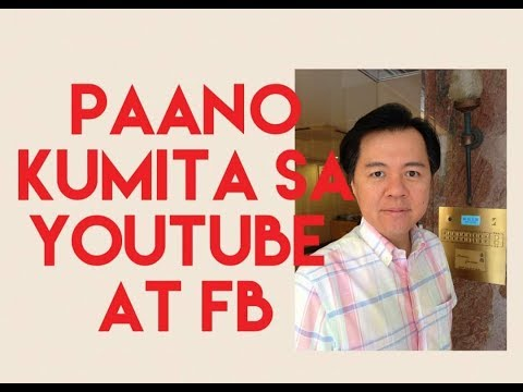 Paano Kumita sa YouTube at FB - Payo ni Doc Willie Ong #771