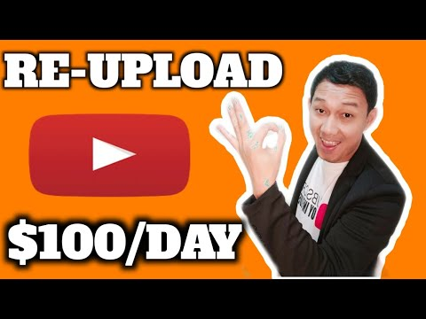 Kumita Ng $100 Per Day Re-Posting Videos