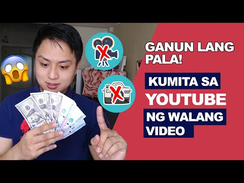 Paano kumita sa youtube ng walang video step by step | $300-$400 Possible Monthly kitaan