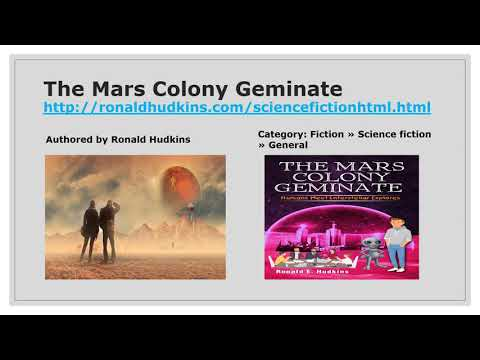 The Mars Colony Geminate: A Short Read SF Story