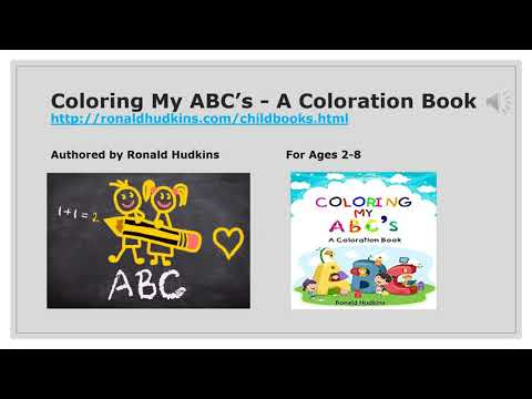 Coloring My ABC's - A Coloration Book